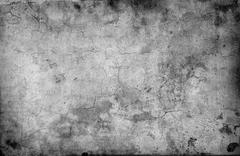 cracked stone wall background - stock illustration