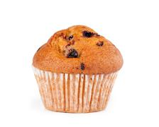 Fresh muffin close up Stock Photos