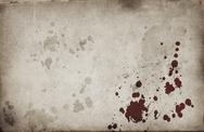 Blood spots on grunge background Stock Illustration