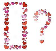 Hearts and hearts Stock Photos