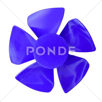 Stock Illustration of fan blades