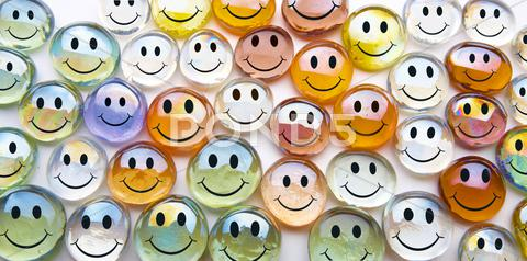 Stock Illustration of smilies