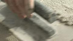 Concrete block Stock Footage