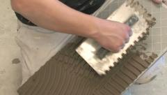 Tiler Stock Footage