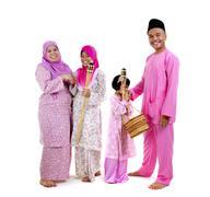Malay family Stock Photos