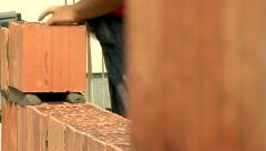 Brickwork Close-Up 07 - stock footage