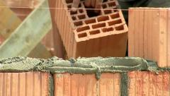 Brickwork Close-Up 04 - stock footage