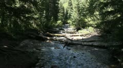 Beatuiful mountain river Stock Footage