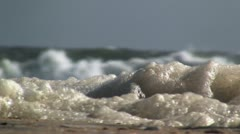 Sea foam Stock Footage