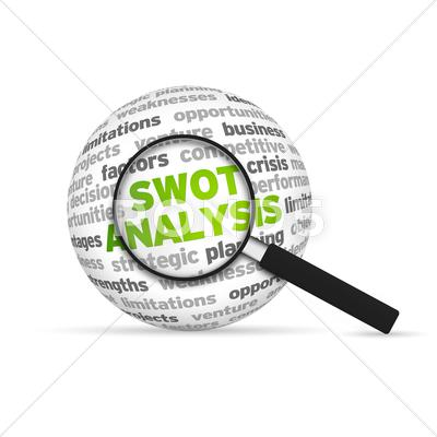 Stock Illustration of swot analysis