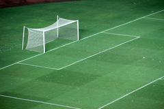 goal soccer field - stock photo