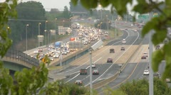 traffic - stock footage