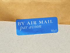 airmail picture - stock photo