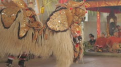 Bali Barong Dance Stock Footage