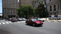 Philadelphia City Hall Stock Footage