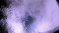 Explosion flash energy,Clouds mist splash smoke,fire gas fireworks particles. Stock Footage