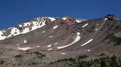 Mt Shasta 20 Old Ski Bowl Stock Footage