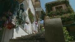 Positano (15),  Amalfi Coast, Italy Stock Footage