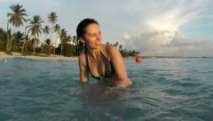 Summer vacation fun Stock Footage