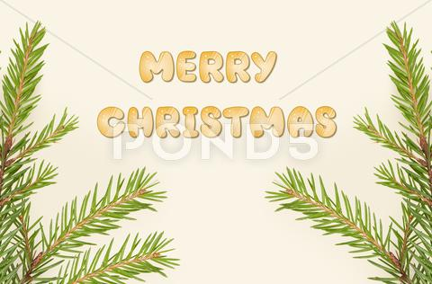Stock Illustration of merry christmas background