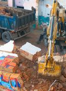 demoliton - stock photo