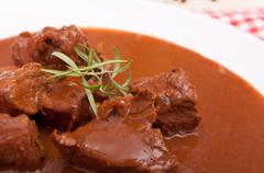 Venison goulash Stock Photos