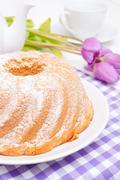 guglhupf cake - stock photo