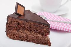 Stock Photo of chocolate cake
