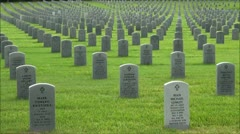 A Soldiers Resting Place Stock Footage