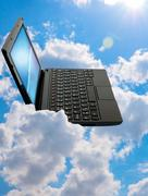 Stock Photo of cloud computing concept