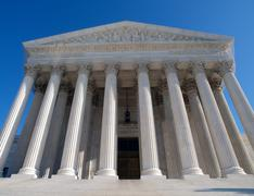 supreme court usa - stock photo
