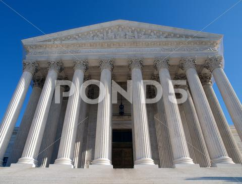 Stock photo of supreme court usa