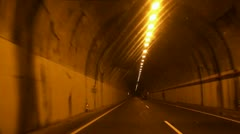 Tunnel Driving 20110428 110428a - stock footage