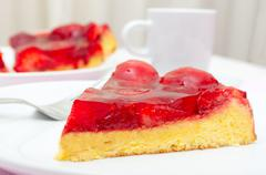 Stock Photo of strawberry cake