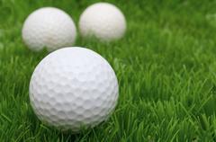 golf balls.. - stock photo