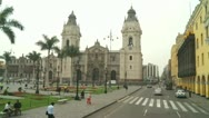 Stock Video Footage of Plaza de Armas, Lima, Peru