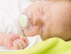 Stock Photo of sleeping newborn baby