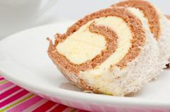 Stock Photo of swiss roll