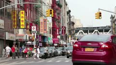 China town Stock Footage