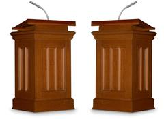 Stock Illustration of debate