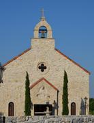 The Stone Chapel - stock photo