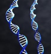 double helix - stock illustration