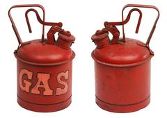 Gallon of gas Stock Photos