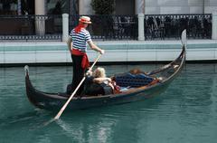 gondola ride - stock photo