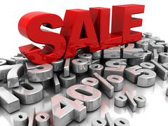 Sale Stock Illustration