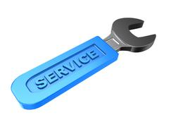 Service Stock Illustration