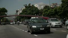 Puente de libertador - stock footage
