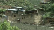 Tibetan village Stock Footage
