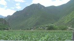 Shangrila villages Stock Footage