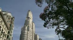 En las alturas de Retiro – Edificio Kavanagh, Buenos Aires Stock Footage